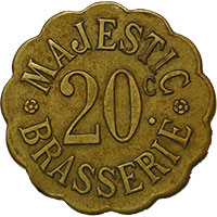 French Emergency Coins & Tokens