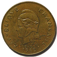 French Colonial (Coins & Tokens)