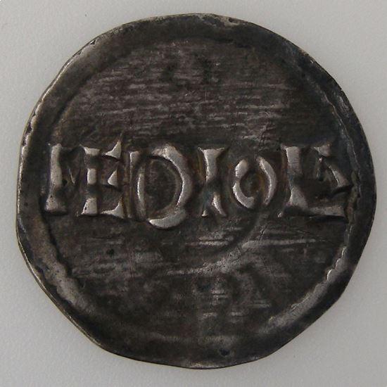 Lothaire I (817-855), Denier de Milan, TTB