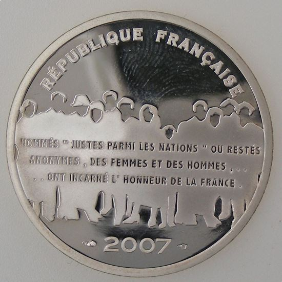 Euro , France, 15 Euro 2007 BE