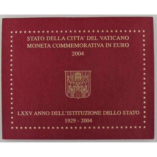 Euro, Vatican, 2 euro 2004, 75ème Anniversaire de l'Institution de l'Etat de la Cité du Vatican