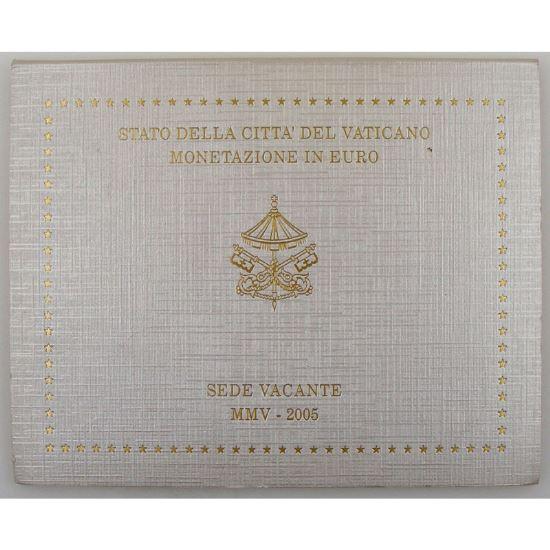 Euro, Vatican, Siège Vacant, Coffret Brillant Universel 2005