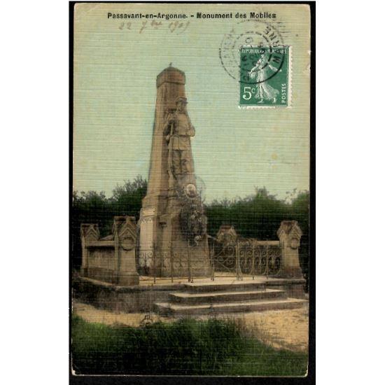 51 - PASSAVANT EN ARGONNE (Marne)  - Monument des Mobiles