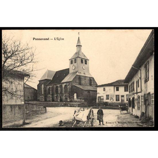 51 - PASSAVANT  (Marne)  - L'Eglise