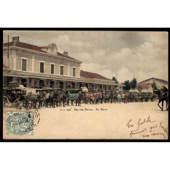 73 - AIX LES BAINS (Savoie) - La Gare