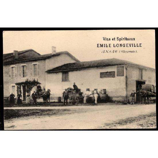 16 - ANSAC (Charente) - Vins et Spiritueux - Emile Longeville