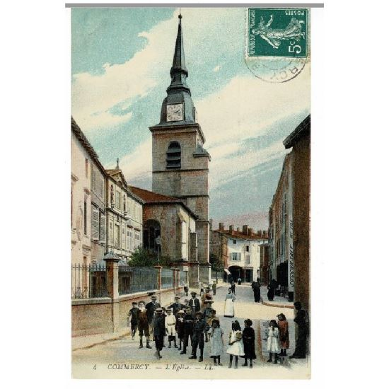 55 - COMMERCY (Marne) - L'Eglise