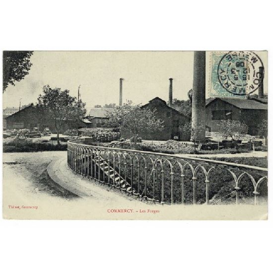 55 - COMMERCY (Marne) - Les Forges