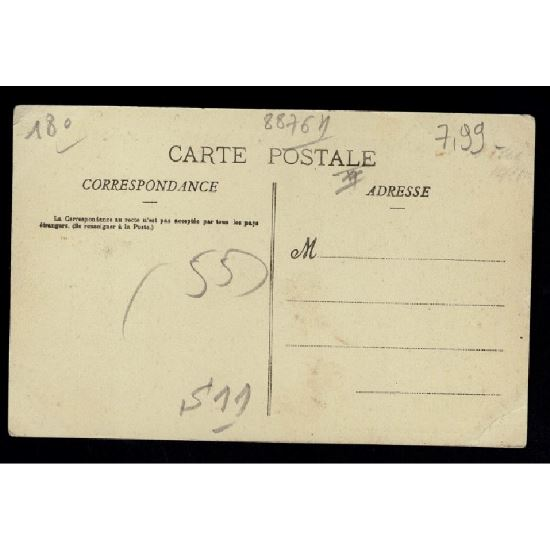 55 - COMMERCY (Marne) - Maison MABILLE - Café Restaurant - Salle de Billard