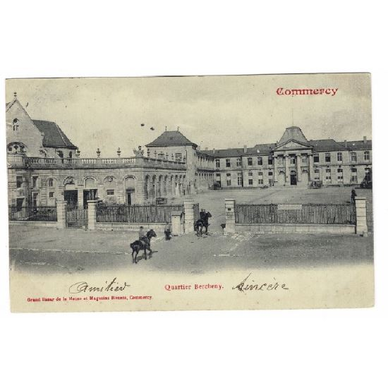 55 - COMMERCY (Marne) - Quartier Bercheny