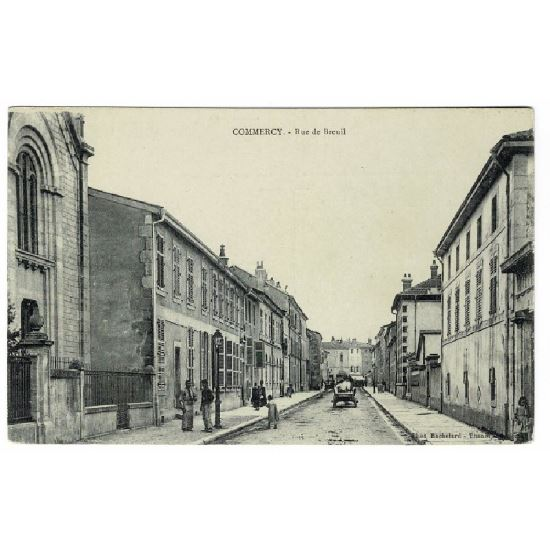 55 - COMMERCY (Marne) - Rue de Breuil