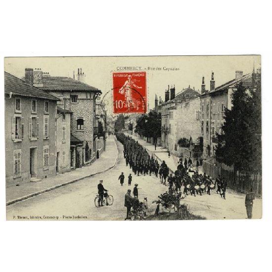 55 - COMMERCY (Marne) - Rue des Capucins