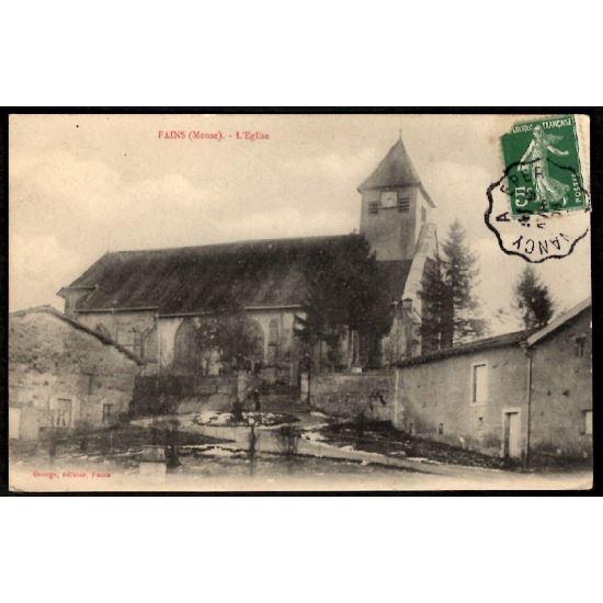 55 - FAINS (Meuse) - L'Eglise