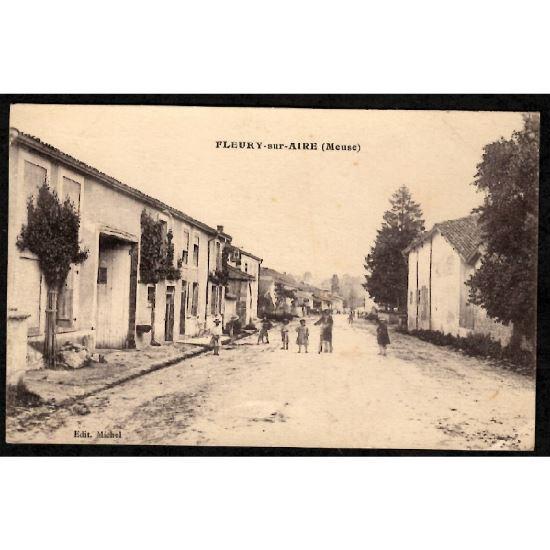 55 - FLEURY SUR AIRE (Meuse)
