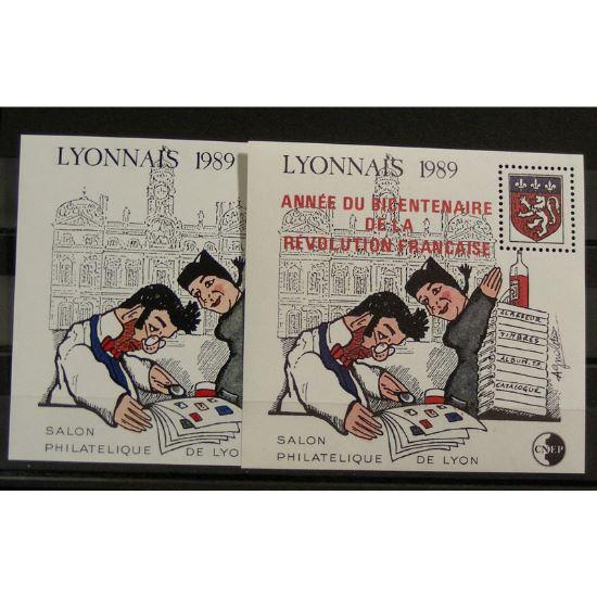 France, Feuillet C.N.E.P. n°10-11  N** Cote 70€