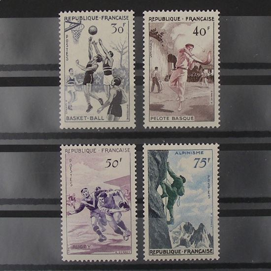 FRANCE n°1072-1075 N** Cote 26€
