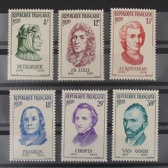 FRANCE n°1082-1087 N** Cote 18.50€