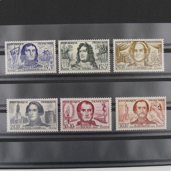 FRANCE n°1207-1212 N** Cote 10.20€