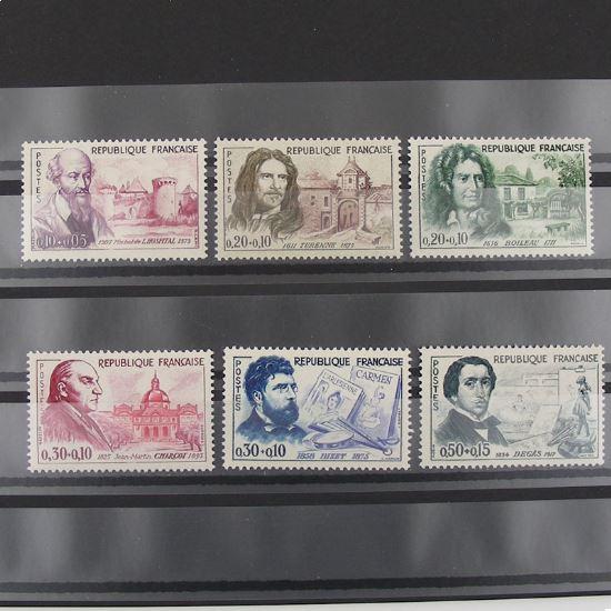 FRANCE n°1257-1262 N** Cote 21€