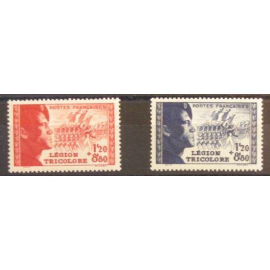 FRANCE n°565-566 N**  Cote 25€