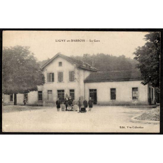 55 - LIGNY EN BARROIS (Meuse) - La Gare