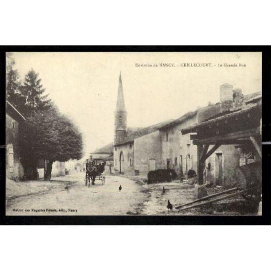 Environs de NANCY - HEILLECOURT - La Grande Rue - Reproduction