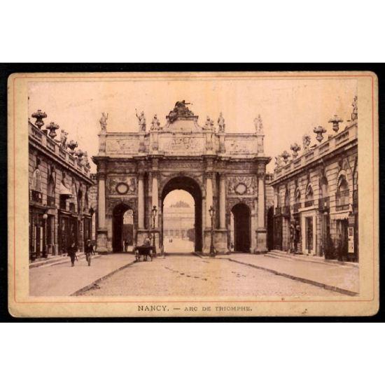 Phototypie J. Royer - NANCY - Arc de Triomphe