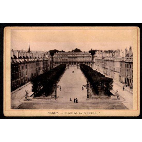 Phototypie J. Royer - NANCY - Place de la Carrière