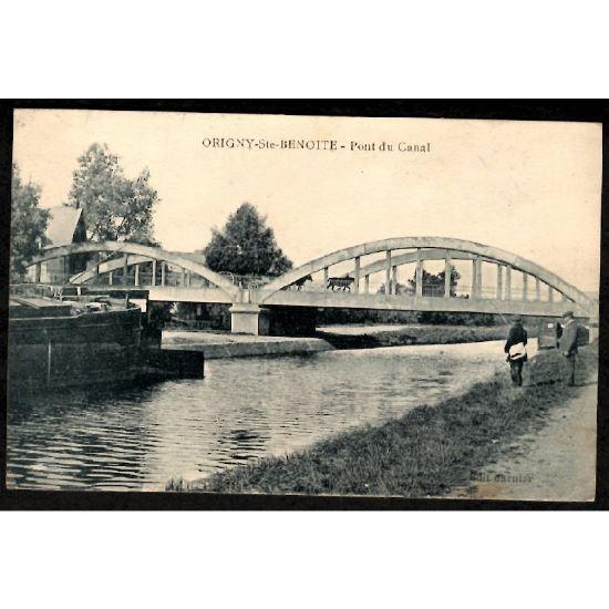 02 - ORIGNY LA SAINTE BENOITE (Aisne) - Pont du Canal