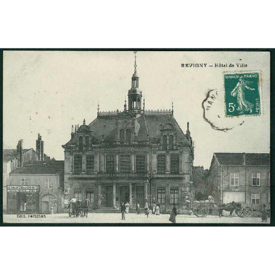 55 - REVIGNY  (Meuse) - L'Hôtel de Ville