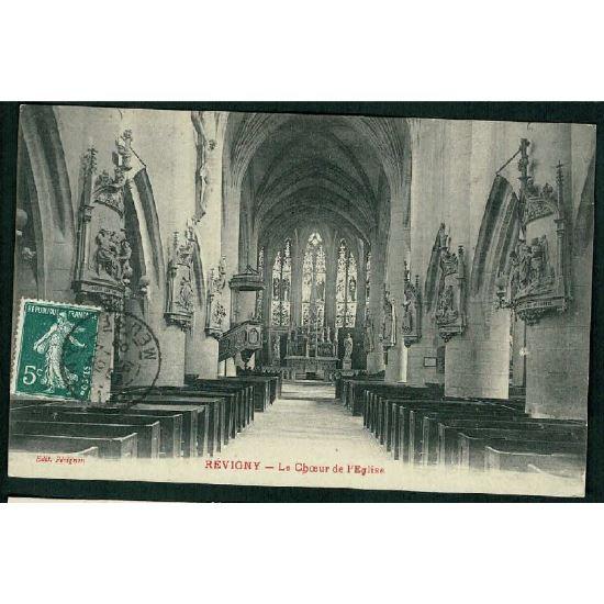 55 - REVIGNY (Meuse) - Le Choeur de l'Eglise