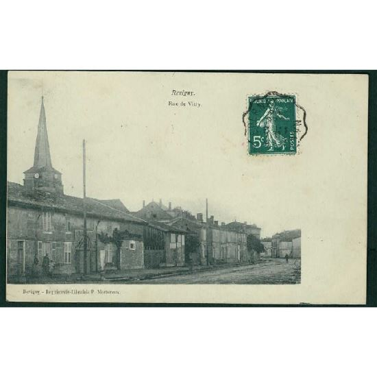 55 - REVIGNY  (Meuse) - Rue de Vitry