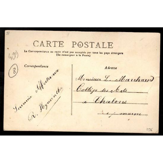 51 - SAINT JUST  (Marne) - Tour et Fossé du Château