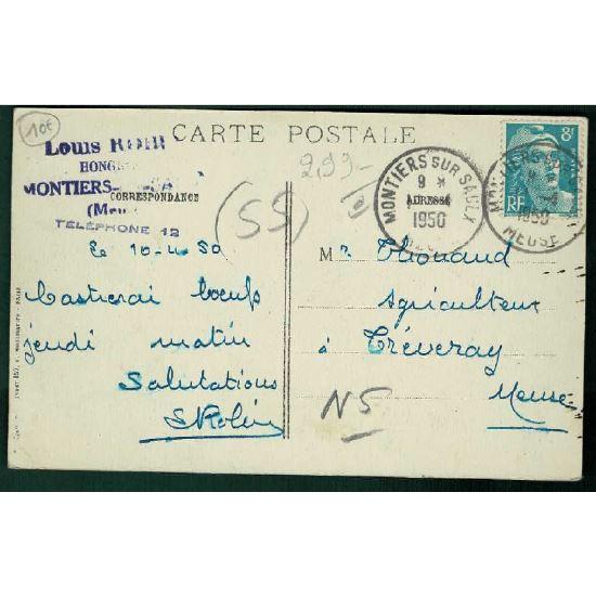 55 - COMMERCY-KOEUR - SAMPIGNY  (Meuse) - Boyau de Communication sous la Voie Ferrée
