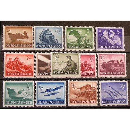 Allemagne, 3ème Reich 1933-1945, N°791-803, N** Cote 22.50€