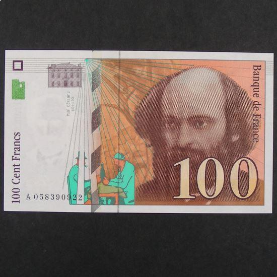 100  Francs Cézanne 1998, SPL