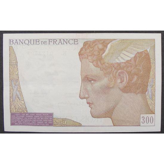 300 Francs Cerveau 6.10.1938, K.0122703, SUP