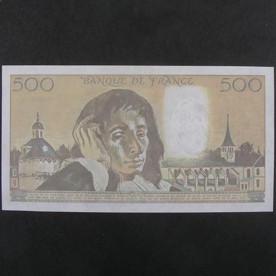500 Francs Pascal  6.7.1989, SUP+
