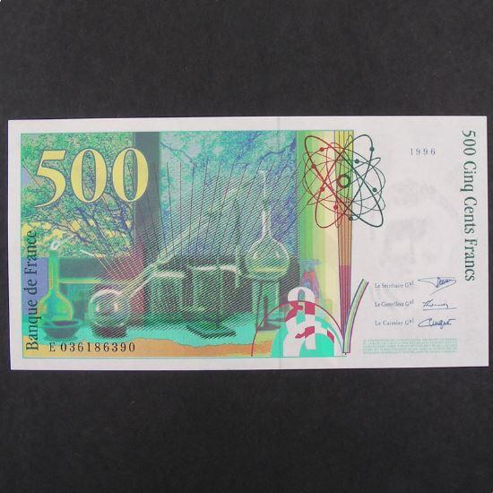 500 Francs Pierre et Marie Curie 1996, Pr.Neuf