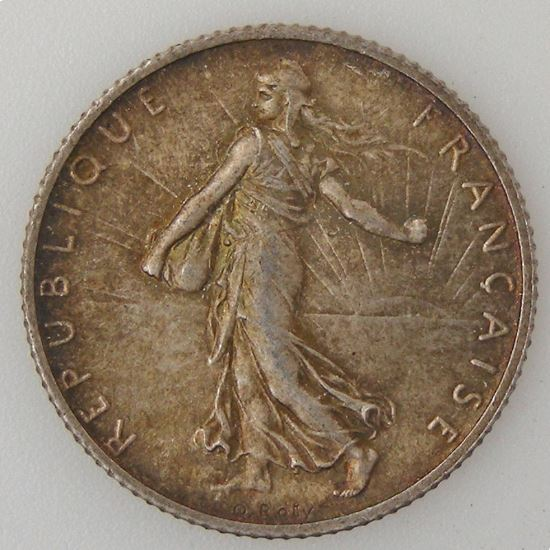 France, 1 Franc 1898, SUP/SPL, KM# 844.1