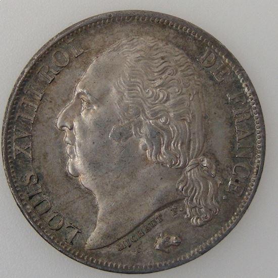 France, Louis XVIII, 1 Franc 1816 A