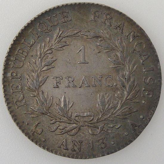 France, Napoléon 1er, 1 Franc l'An 13 A