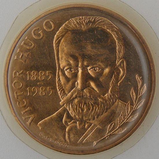 France, 10 Francs 1985 Hugo, FDC, KM#956