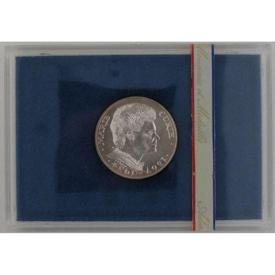 Marie Curie, 100 Francs 1984 , BU argent, KM#955
