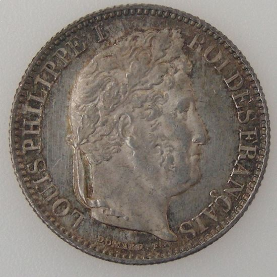 France, Louis-Philippe I, 50 Centimes 1848 A