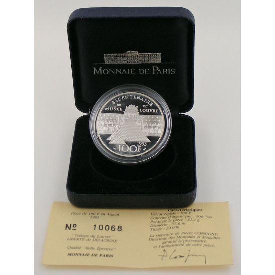 100 Francs 1993 BE, La Liberté guidant le peuple, KM#1018.2
