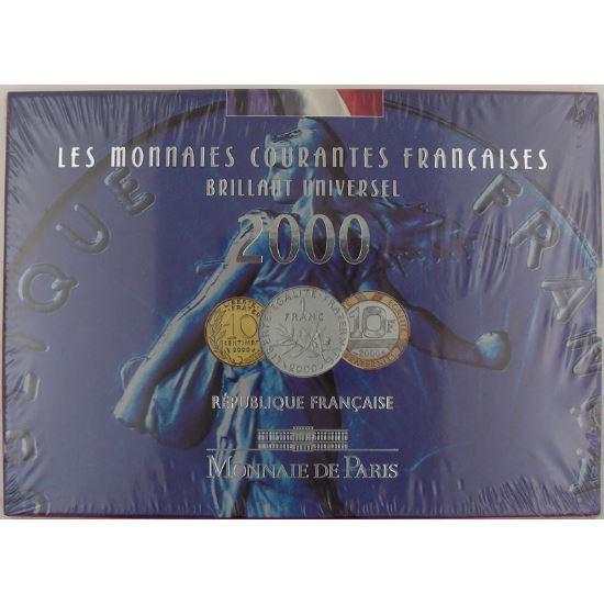 France , Coffret Brillant Universel 2000