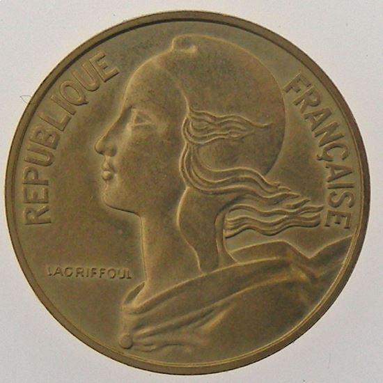 France, 20 Centimes 1962 Piéfort bronze Aluminium, SUP/SPL, KM# P347