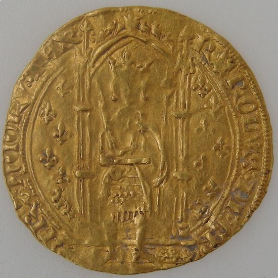 Charles V 1364-1380, Roi de France, Franc à Pied, TB+, Dup: 360