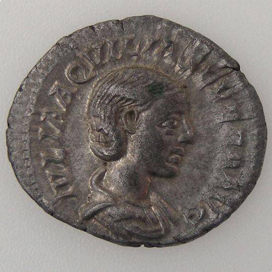 Empire romain, Aquilia Severa, Denier, R/ CONCORDIA, 2.95 Grs, TTB